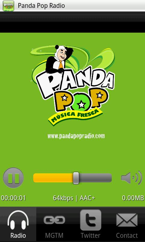Panda Pop Radio- screenshot