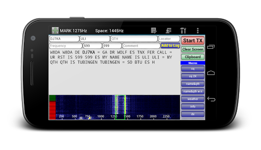 DroidRTTY - RTTY for Ham Radio
