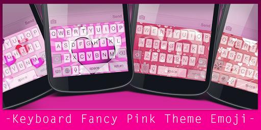 Keyboard Fancy Pink Theme