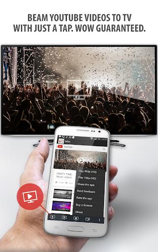 Tubio - Stream YouTube to TV
