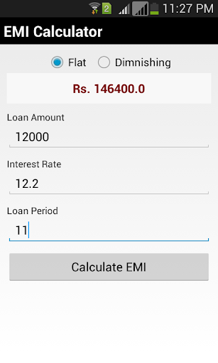Smart EMI Calculator