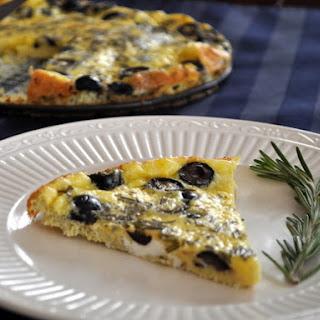 Baked Rosemary Olive Frittata