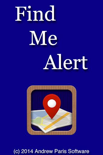Find Me Alert
