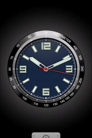Chronograph LiveWallpaper01 - screenshot