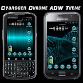 ADW Cyanogen Chrome Theme