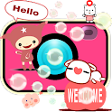 Giddy Sticker Overlay Camera icon