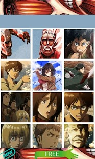 Attack on Titan Sticker - screenshot thumbnail