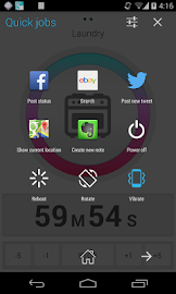 Quickr - Action Launcher Screenshot 1
