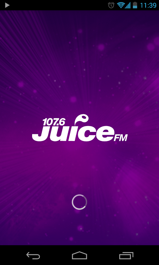 Juice FM Radio, Liverpool - screenshot