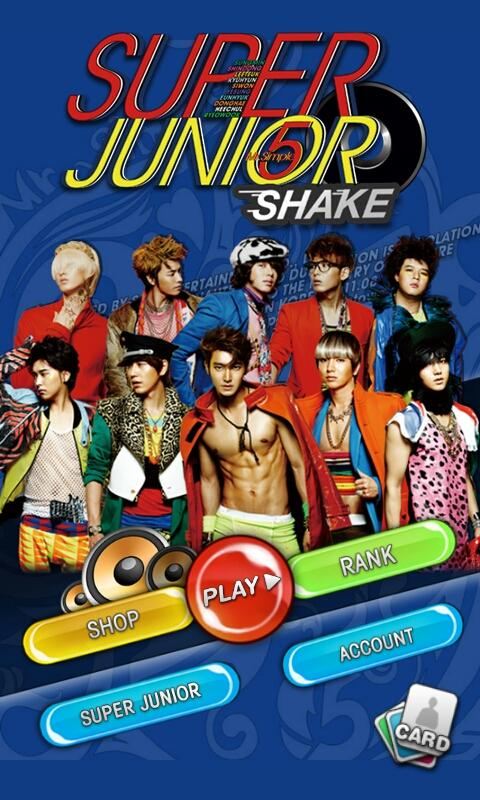 Super Junior SHAKE - screenshot