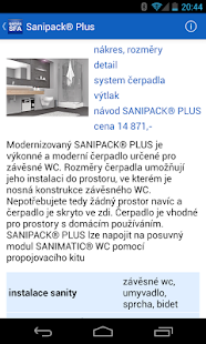 Servis SFA SANIBROY®- screenshot thumbnail
