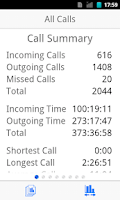 Screenshot of BearContact:Unlimited Call Log