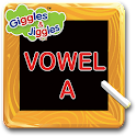 English Vowel - A for LKG Kids icon