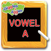 English Vowel - A for LKG Kids