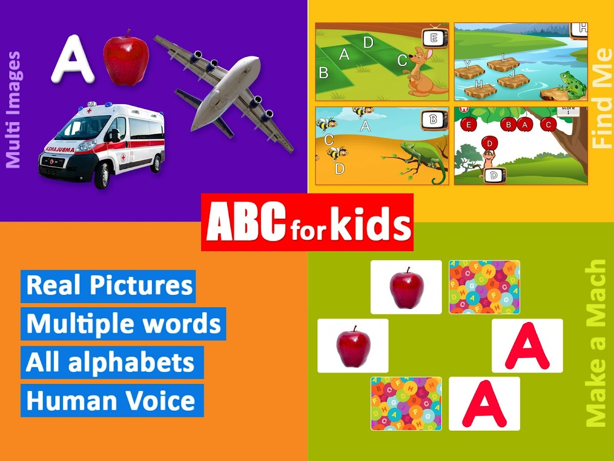 ABC for Kids All Alphabet Free- screenshot