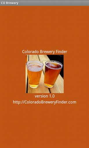 Colorado Brewery Finder Tablet