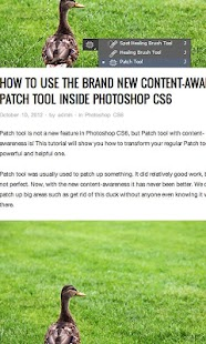 Tutorials for Photoshop CS6- screenshot thumbnail