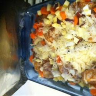 Try It You'll Like It Kraut Casserole