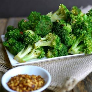 5-Minute Spicy Lemon Broccoli.