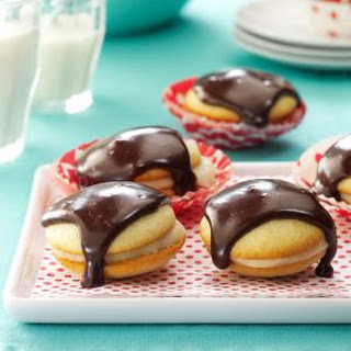 Boston Cream Pie Cookies