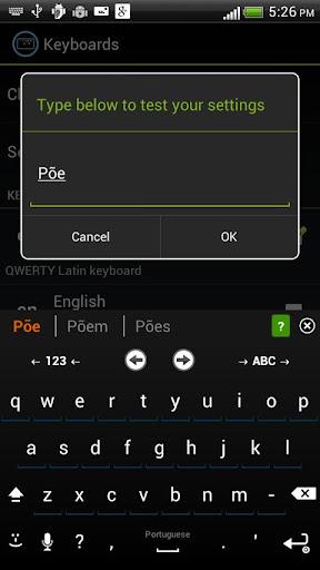 Portuguese Keyboard for iKey