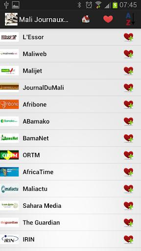 Mali Journaux et Nouvelles