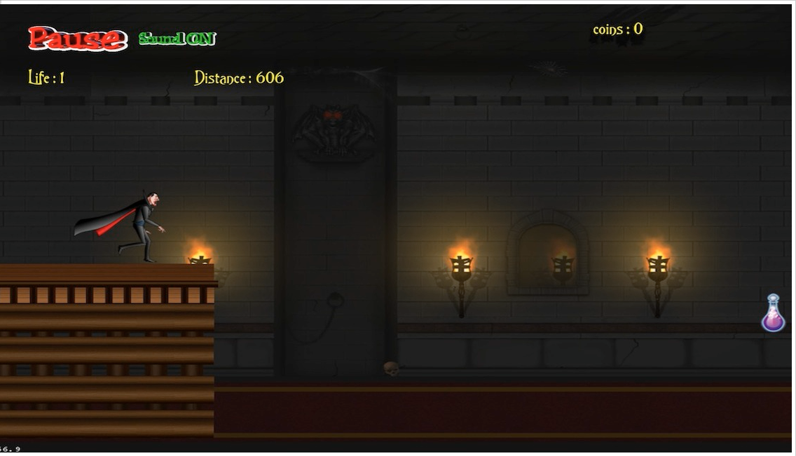 Dracula Castle Run - hd - screenshot