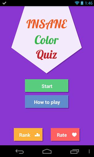 Insane Color Quiz