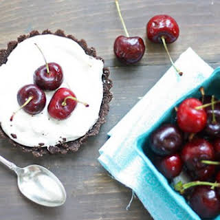 Fresh Cherry Tarts.