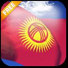 3D Kyrgyzstan Flag LWP icon