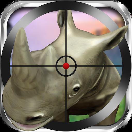 动作のジャングルスナイパーハンター3D LOGO-記事Game