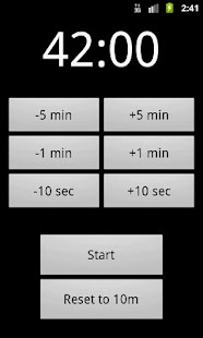 Yata! Yet Another Timer App - screenshot thumbnail