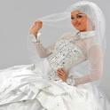 أشيك فساتين زفاف المحجبات 2013 icon