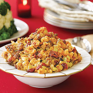 Sausage and Fall-Fruit Stuffing