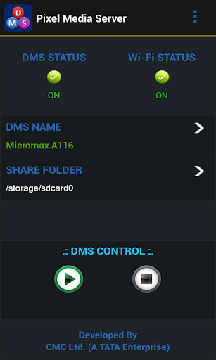 Pixel Media Server - DMS