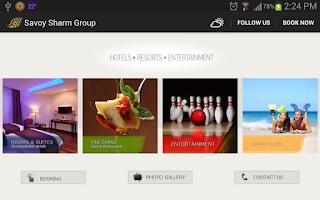 Screenshot of Savoy Sharm Group