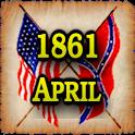 1861 Apr Am Civil War Gazette icon
