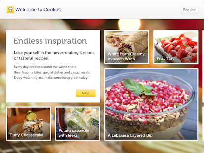 Cooklet for tablets - screenshot thumbnail