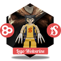 Lego Wolverine GO Launcher icon