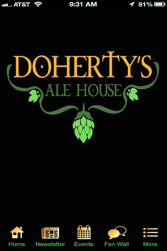 【免費生活App】Doherty's Ale House-APP點子
