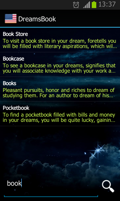 Dreams Book-Сонник-Yuxu Yozma - screenshot