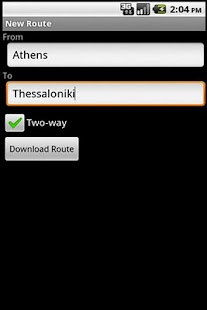 Greece Train Schedules- screenshot thumbnail