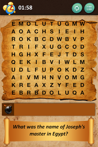 Bible Crossword - screenshot