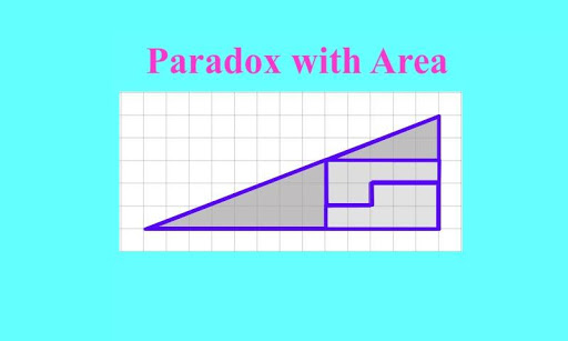 Paradox with area of triangle