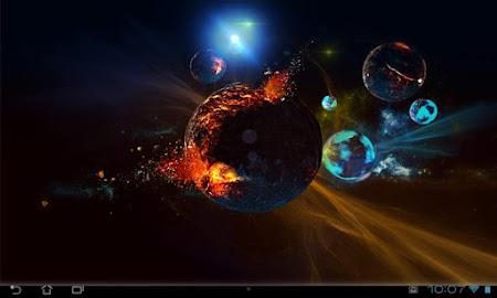 Deep Space 3D Pro lwp Screenshot 12