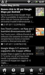Pselion Blog- screenshot thumbnail