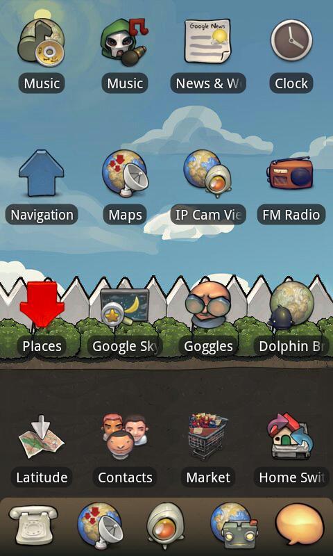 BuuF GuuF - Go & ADWTheme- screenshot