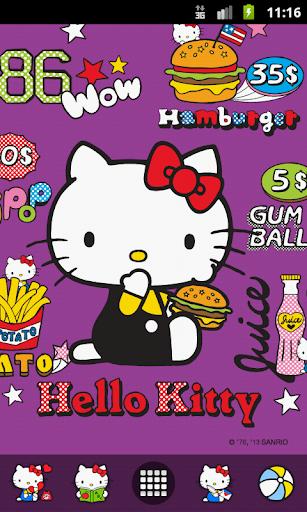 Hello Kitty Burger Time Theme