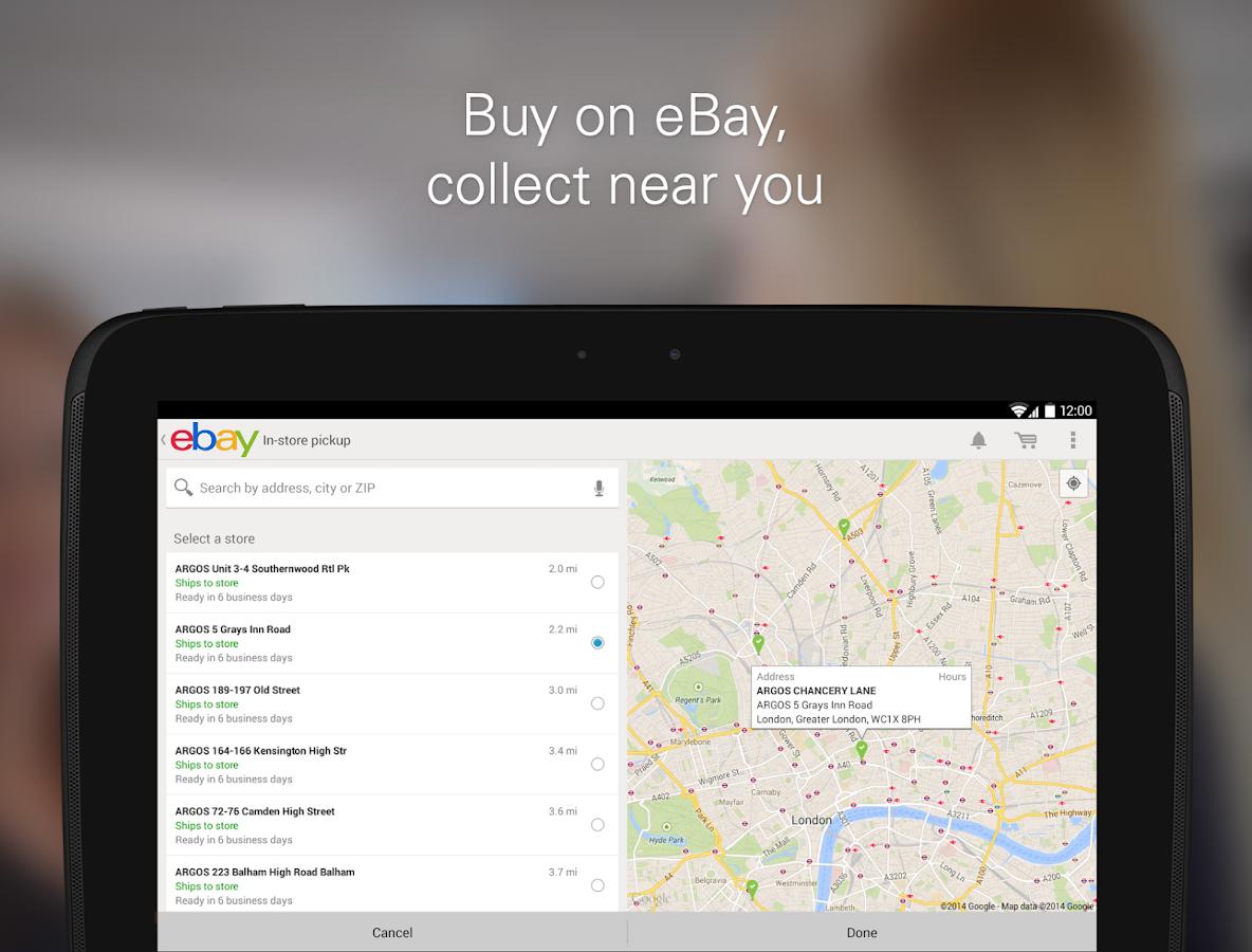 eBay - screenshot