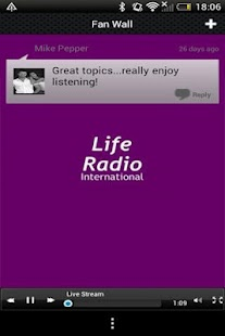 Life Radio International - náhled